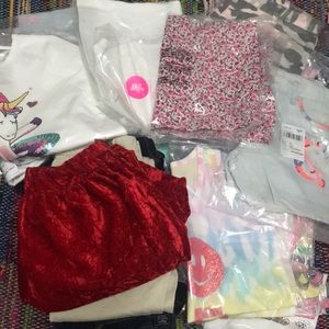 Huge lot girls 12/14 clothes
